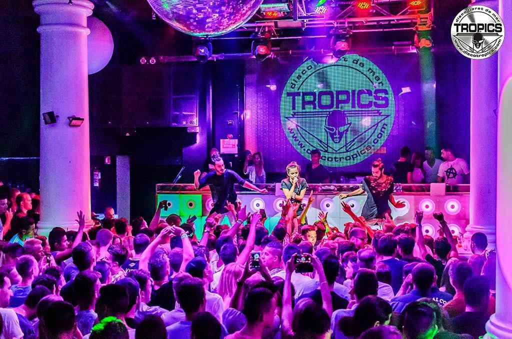 disco tropics lloret