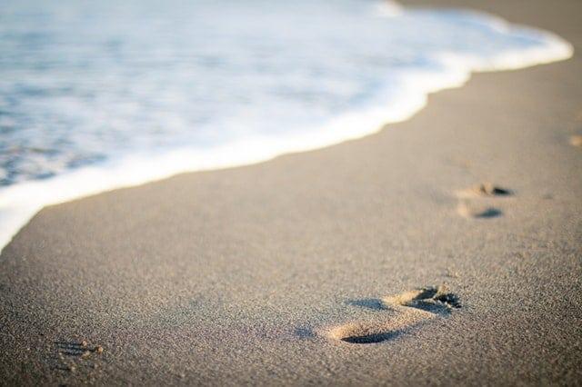 Weer aan het strand in blanes